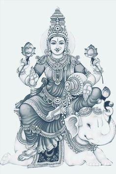 Mysore Painting, Kerala Mural Painting, Ganesha Painting, Tanjore Painting, Indian Art Paintings, Mandala Painting, Mandala Drawing, Goddess Art, Saraswati Goddess
