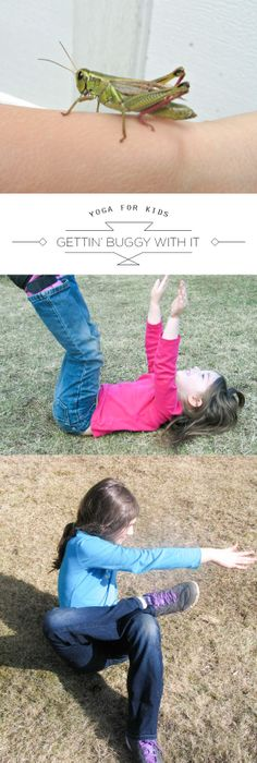 Inspiring spring yoga poses for the little yogis on our lives...