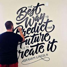Great looking mural by @prspctv_cllctv - #typegang - typegang.com