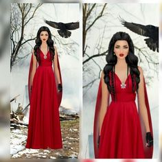 Princesa Polar #dress #fashiondesigner #fashiongirl #fashionladies #fashionday #fashionstyle #fashionstylist #reddress
