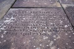 Grave of Mary Driver, first wife of Airedale Poet John Nicholson, at Bingley Parish Church.