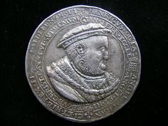 A rare Henry VIII commemorative medal in silver, sold by Thomson, Roddick & Medcalf in their regular coin & medal auctions for £22,500