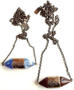 #bonadrag.com             #love                     #Pamela #Love #Small #Ellipse #Necklace             Pamela Love Small Ellipse Necklace                                            http://www.seapai.com/product.aspx?PID=434356