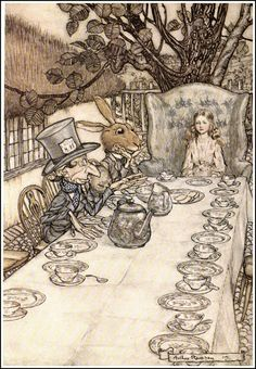 I need a topic for my research paper on Alice in Wonderland! Does anyone have any ideas?