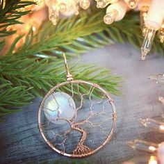 Made from《TEN FEET》of 14k gf ROSE GOLD wire and natural rainbow 16mm moonstone full moon gemstone, this unique pendant will delight her! Order by Sunday Dec 18th for Christmas delivery to US addresses! Give her something special from PhoenixFire Designs.