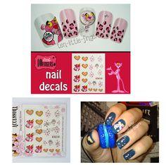 Nail art manicure pedicure decals wraps stickers caviar at ten little