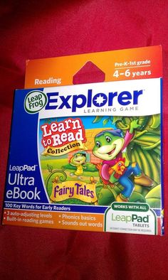 New LeapFrog LeapPad Ultra eBook Game Fairy Tales learn to Read Collection 4-6