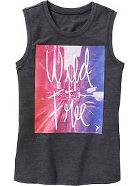 Go-Dry Cool Graphic Muscle Tee