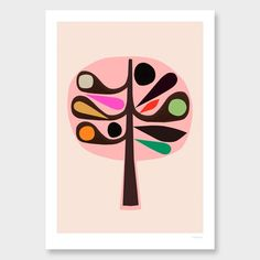 Tree II Art Print by Inaluxe - All Art Prints NZ Art Prints, Art Framing Design Prints, Posters & NZ Design Gifts | endemicworld