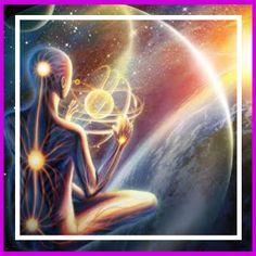Las 7 dimensiones de conciencia 8 Art Visionnaire, Spiritual Pictures, Nova Era, Star Magic, Spirited Art, Visionary Art, Psychedelic Art, Trippy, Fantasy Art