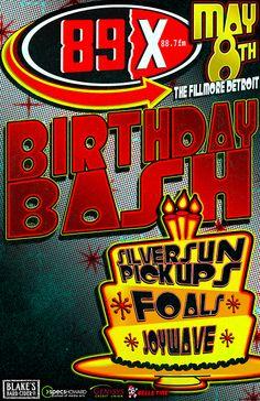 89X - 89X Birthday Bash: Silversun Pickups and Foals wsg Joywave - Detroit's New Rock Alternative