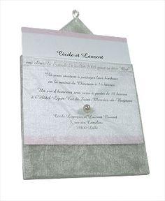 Lot de 6 Enveloppes en Organdi transparent avec Perle. Décorez votre évènement grâce à mariage.fr, numéro 1 des boutiques de décoration mariage en France. décoration mariage, decor mariage, wedding, gris, grey, silver, argent