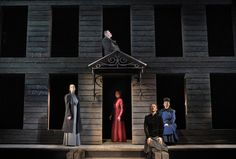 """""""Three Sisters,"""" at the Brooklyn Academy of Music, features Chekhov's unhappy characters in all their contradictions."""