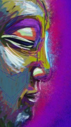 ॐ 💜 Buddha 💜 ॐ Buddha Zen, Gautama Buddha, Buddha Painting, Buddhist Art, Painting & Drawing, Painting Tips, Art Drawings, Spirituality, Artwork