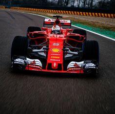 Sebastian Vettel | Ferrari SF70-H | Fiorano test 2017
