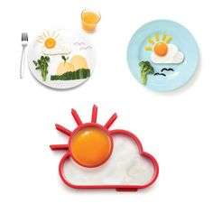 [Visit to Buy] Cute Kitchen Tools Silicone Egg Shaper Sun & Cloud Egg Mold Kids DIY Breakfast Surprise Eggs Supplies  #Advertisement