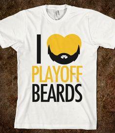 Bruins Playoff Beards