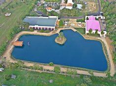 Vista Aerea del Rancho Haras Dos Cavaleiros