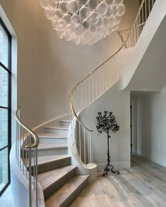 Staircase Design Modern, Modern Design, Spiral Staircase, Stairs, Construction, Projects, Champagne, House, Interiors