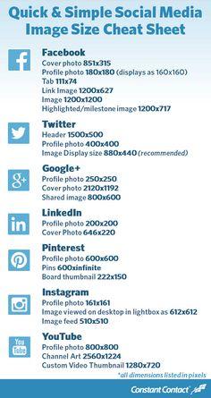 Atención: Medidas de redes sociales que deberías conocer - Clases de Periodismo