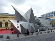 Minioper, Coop Himmelb(lau, Festspielpavillon, Staatsoper München, Mini, Oper