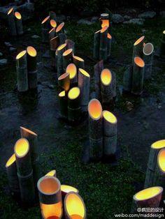 Bamboo lighting