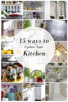 15 Ways to Update Your Kitchen