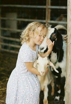 One day I'll have this moment, watching my daughter on our farm.