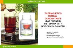 Herbalife Thermojetics® Tea= AEROBICS IN A BOTTLE!   SASA INDEPENDENT HERBALIFE DISTRIBUTOR SINCE 1994 https://www.goherbalife.com/goherb/