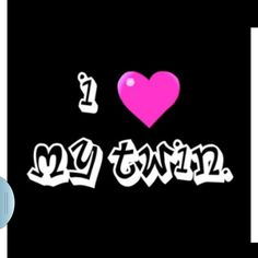 I ♡my twin Twin Quotes, Bff Quotes, Family Quotes, Cute Quotes, Funny Sayings, Qoutes, Cute Sister, Love My Sister, Love My Family