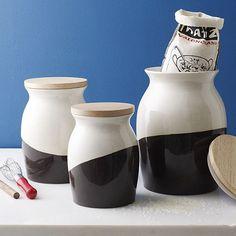 Schicke Behälter für Lebensmittel in der modernen Küche - #Küche