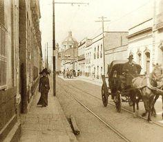 1910 Calle de los Siete Principes, actual Emiliano Zapata.