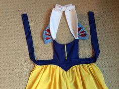 Snow White dress up apron.