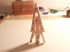 How to Make a Clothes Pin Mine