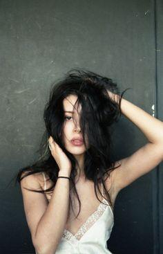 #beautiful #raven haired #black hair