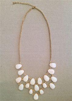 Bailey Shell Necklace #statement #statementpiece #white #pretty #summer www.Shoplaurennicole.com