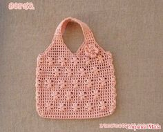 Crochet and arts: bag Crochet Chart, Love Crochet, Irish Crochet, Crochet Motif, Crochet For Kids, Crochet Hooks, Knit Crochet, Crochet Patterns, Bag Patterns