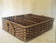 """Короб для семян """"Пришла пора весенняя..."""" - коричневый,короб для хранения"""