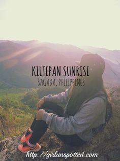 Kiltepan Sunrise in Sagada, Philippines