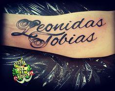 Domex ink Tattoo Unterarm Name