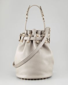 Alexander Wang Diego Studded Drawstring Bag