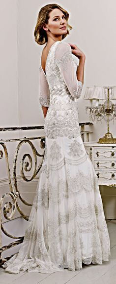 Best Wedding Dresses For Older Brides With Sleeves 0010