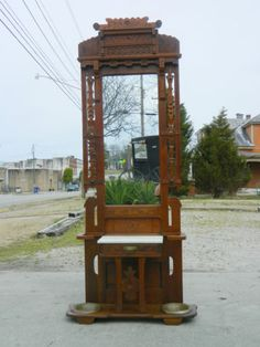 Antique Hall Tree Furniture Prices Antique Furniture