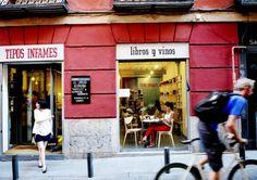 Tipos Infames. San Joaquín 3, Madrid ~ http://www.tiposinfames.com/ #madrid