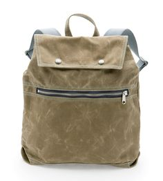 Billy Waxed Canvas Backpack | Women's Bags & Accessories | Queen Bee by Rebecca Pearcy | Scoutmob Shoppe | Product Detail