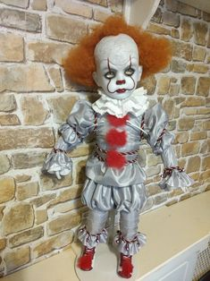 Scary Baby Dolls, Creepy Dolls, Creepy Art, Weird Art, Scary Movies, Horror Movies, Horror Merch, Scary Kids, Pennywise The Clown