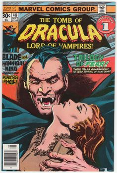 Tomb Of Dracula #48 NM, Blade appears, Gene Colan cover/artwork, back cover ad with Jack Davis art. $27.50