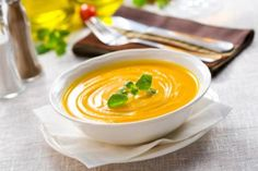 This vegan butternut squash soup recipe is savory and satisfying