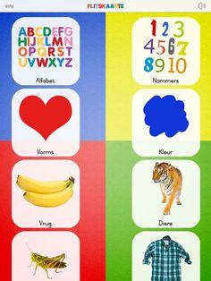 Toddler Flashcards by Fanie Deysel