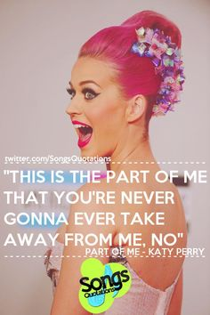 Part of me: Katy Perry